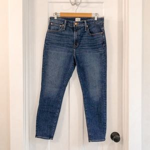 J Crew Denim High Rise Skinny Jeans Size 31 P
